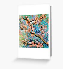 Amongst the Blossoms Greeting Card