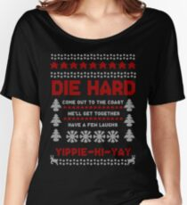 Die Hard 2018 Christmas Jumper Women's Relaxed Fit T-Shirt
