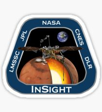Mars Insight-Missionspatch Sticker