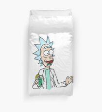Happy Rick Happy  Duvet Cover