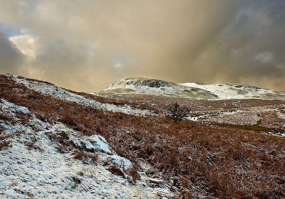 Welsh Winter Mountains by John Passmore