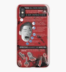 Zombie Infographic  iPhone Case/Skin