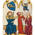 Medieval Musicians...Grosse Heidelberger Liederhandschrift  by edsimoneit