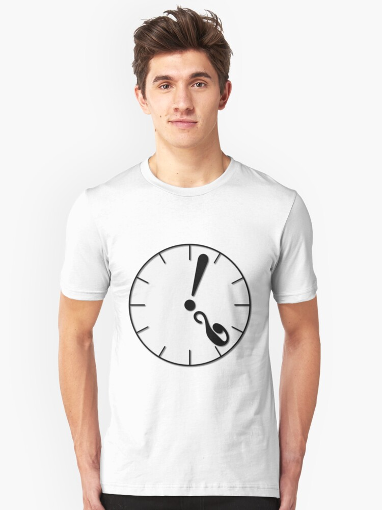 What's the time ? Unisex T-Shirt Front