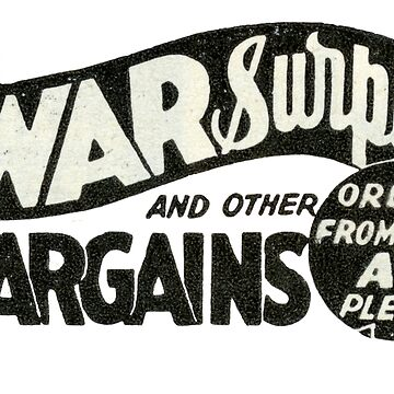 1950s War Surplus. WWII Treasures  by taspaul