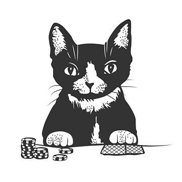 Poker Katzengesicht von runcatrun