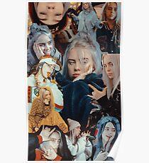 Billie Eilish Collage Poster