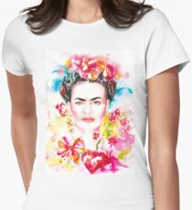 Frida´s Garden Womens Fitted T-Shirt