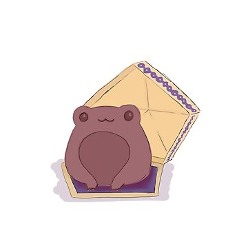 Chocolate Frog Illustration by alicedaisymae3