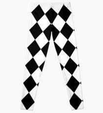 Arlequin - tiles pattern - Keep Your Shirt Alive! Leggings