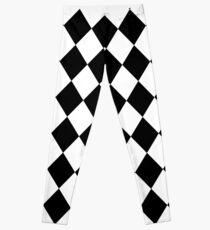 Harlequin pattern Leggings