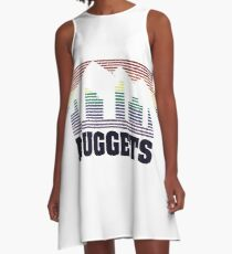 Nuggets Edition A-Line Dress