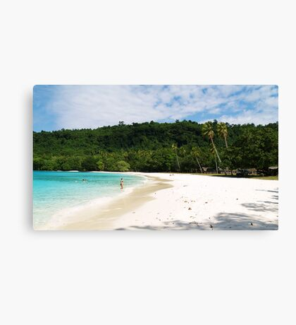 somewhere in paradise Canvas Print