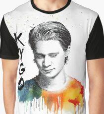 Camiseta gráfica Kygo colorido retrato (hecho por fanáticos)