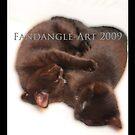 Two Sleeping Kittens by fandangle-art