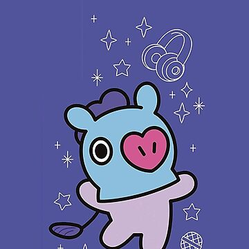 BT21 Phone Case - Mang by ZeroKara
