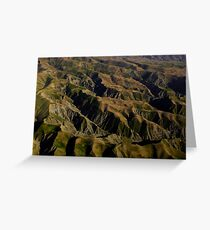 a beautiful Afghanistan landscape Greeting Card