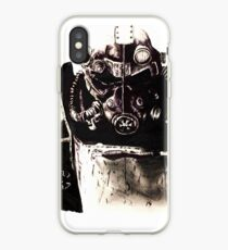 Brotherhood of steel soldier iPhone Case