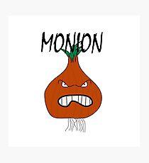 Monion - Monster Onion Photographic Print
