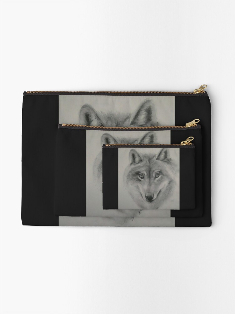 Pochette ''A wolf is watching you !': autre vue