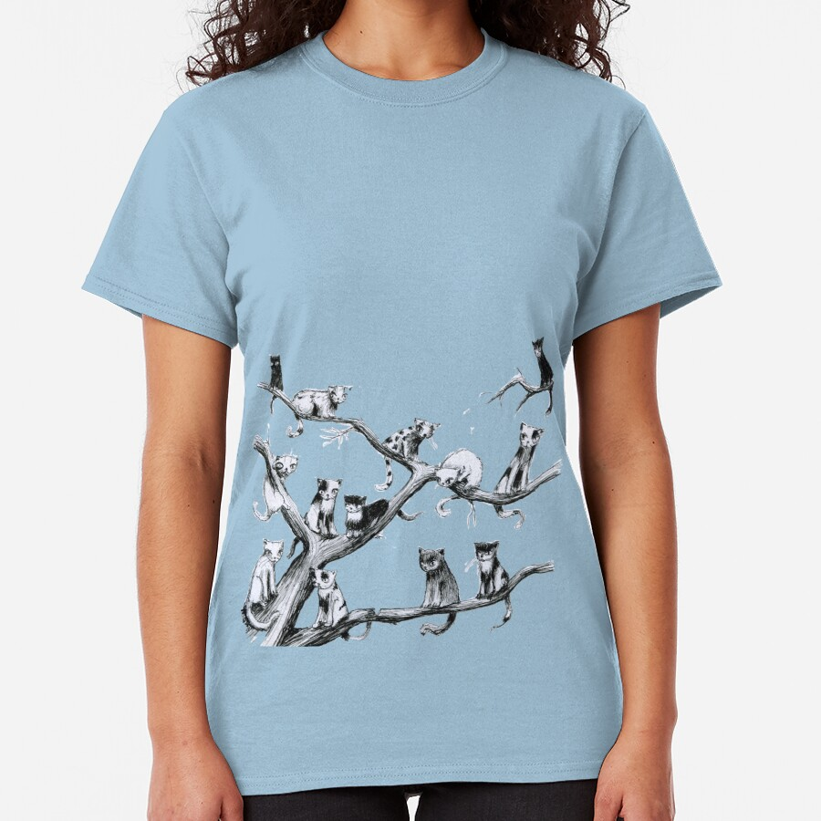 Another Cat Party Classic T-Shirt