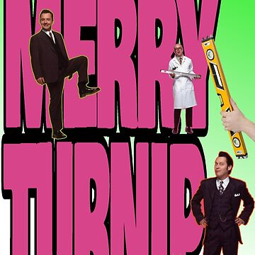 Vic Reeves Christmas Turnip by loganferret