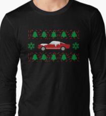 Xmas Ford Mustang Long Sleeve T-Shirt