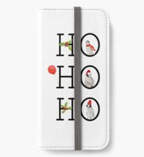HO HO HO Christmas Penguins iPhone Wallet/Case/Skin