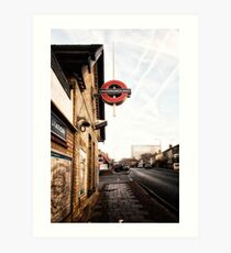 Totteridge and Whetstone Tube Station Art Print