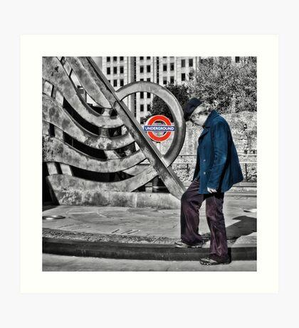 Tower Hill Tube Station Art Print