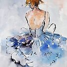 Ballerina Resting by Ballet Dance-Artist