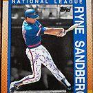 439 - Ryne Sandberg by Foob's Baseball Cards