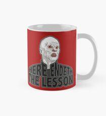 Here Endeth The Lesson Mug