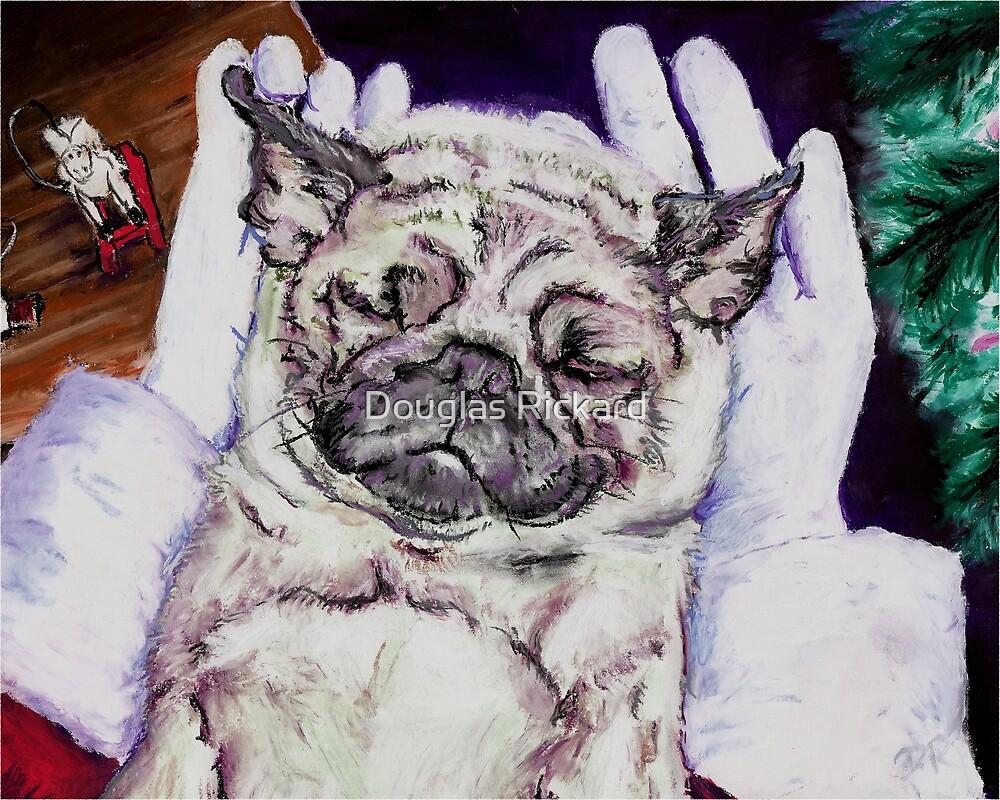 Twas the Pug before Christmas by Douglas Rickard