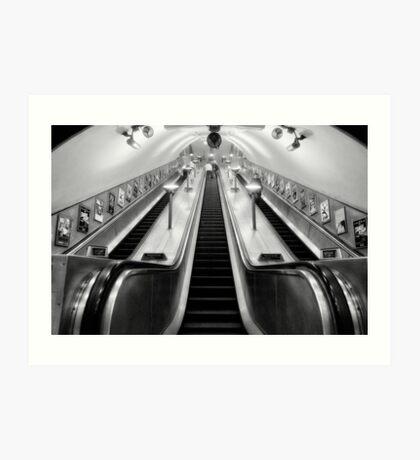 Turnpike Lane Tube Station Art Print