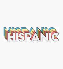 Hispanic Photographic Print