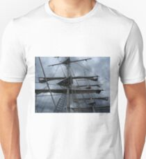 Stormy weather.....reef the topsails.......!   T-Shirt