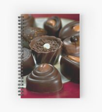 Chocolates For Mum Spiral Notebook