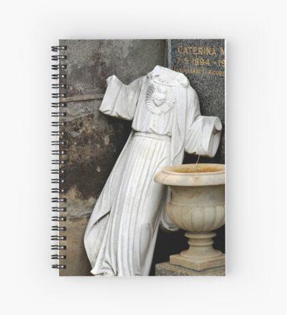 Broken Gods Spiral Notebook