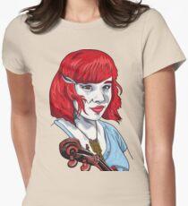 Baby Bluegrass t-shirt Womens Fitted T-Shirt
