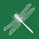 Dragonfly (Green) by MissElaineous Designs