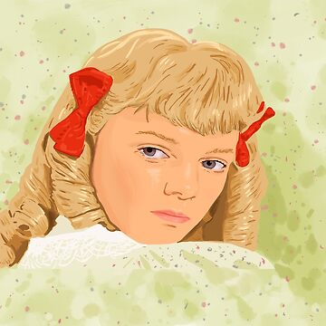 Nellie Oleson, bad girl in little house on the prairie by MimieTrouvetou
