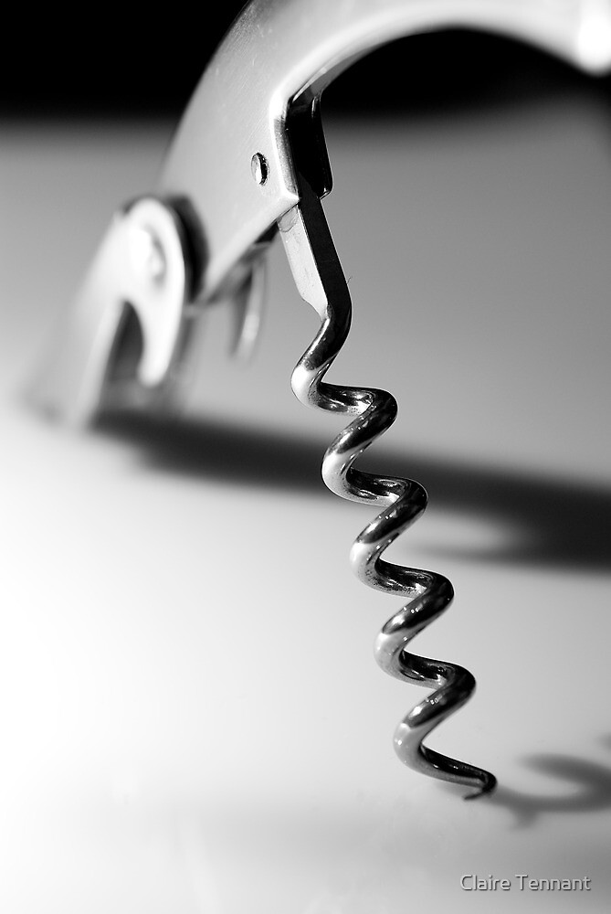 Corkscrew, a different perspective by Claire Tennant