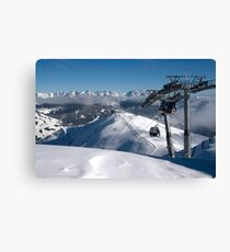 ON top of Europe Canvas Print