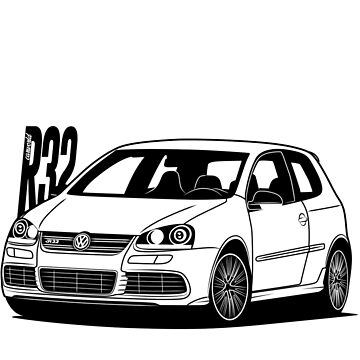 Golf Mk5 R32 Best Shirt Design by CarWorld