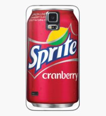 Sprite cranberry can Case/Skin for Samsung Galaxy