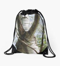 Graceful Birch Drawstring Bag