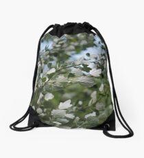 Shimmering Poplar Drawstring Bag