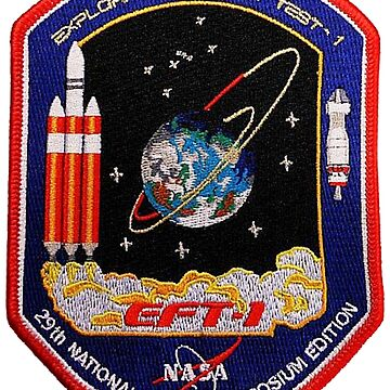 EFT-1 Patch for 29th Space Symposium by Spacestuffplus