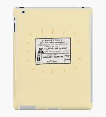 SNL Ticket iPad Case/Skin